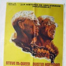 Cinema: PAPILLON, CON STEVE MCQUEEN. POSTER. 70 X 100 CMS. 1974.. Lote 274383768