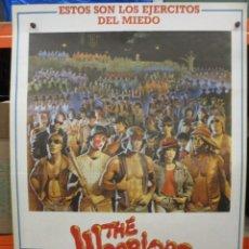 Cine: CARTEL ORIGINAL - THE WARRIORS - LOS AMOS DE LA NOCHE - UNICO EN TC - 100 X 70 - MUY BUEN ESTADO. Lote 275023883