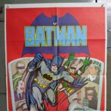 Cine: ABH01 BATMAN ADAM WEST COMIC TV SERIES POSTER ORIGINAL ESTRENO 70X100. Lote 275038528
