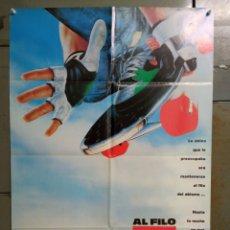 Cine: ABG97 AL FILO DEL ABISMO CHRISTIAN SLATER SKATEBOARD MONOPATIN POSTER ORIGINAL 70X100 ESTRENO. Lote 275039278
