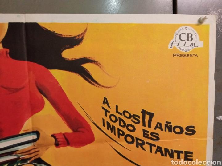 Cine: ABG94 LOS CHICOS DEL PREU VESPA KARINA CAMILO SESTO LOS PEKENIKES POSTER ORIGINAL ESTRENO 70X100 - Foto 6 - 275039748