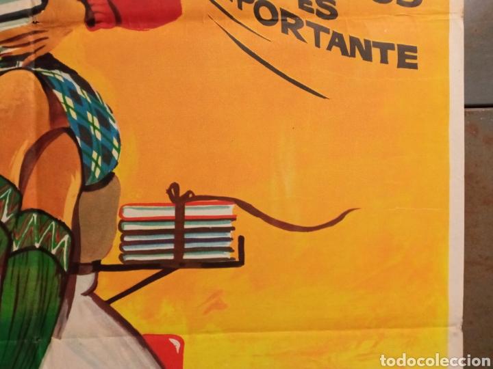 Cine: ABG94 LOS CHICOS DEL PREU VESPA KARINA CAMILO SESTO LOS PEKENIKES POSTER ORIGINAL ESTRENO 70X100 - Foto 7 - 275039748