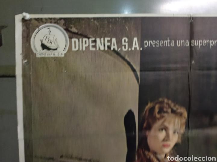 Cine: ABG90 LA VIOLETERA SARA MONTIEL POSTER ORIGINAL 70X100 ESTRENO - Foto 2 - 275043838