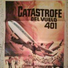 Cine: CARTEL DE CINE : CATASTROFE EN EL VUELO 401. Lote 275169103