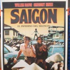 Cine: CARTEL ORIGINAL DE EPOCA - SAIGON - EL INFIERNO DEL SILENCIO - WILLIAN DAFOE - 100 X 70. Lote 275278178
