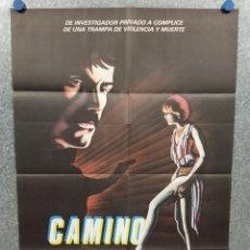 Cine: CAMINO SOLITARIO. ANTONIO MAYANS, LINA ROMAY. AÑO 1983. POSTER ORIGINAL. Lote 275287553