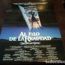 Cine: POSTER ORIGINAL AMERICANO PARA LATINOAMÉRICA THE TWILIGHT ZONE AL FILO DE LA REALIDAD DAN AYKROYD 83. Lote 275301233