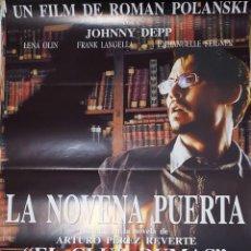 Cine: CARTEL DE CINE 70X100 LA NOVENA PUERTA. Lote 275448578