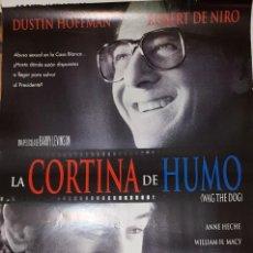 Cine: CARTEL DE CINE 70X100 LA CORTINA DE HUMO. Lote 275448893