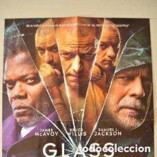 Cine: POSTER O CARTEL DOBLE #001 DE GLASS (CRISTAL) Y TOY STORY 4. Lote 275522758