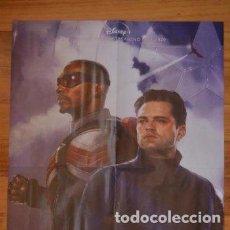Cine: POSTER O CARTEL DOBLE #014 DE FALCON Y EL SOLDADO DE INVIERNO Y INTERSTELLAR. Lote 275527673