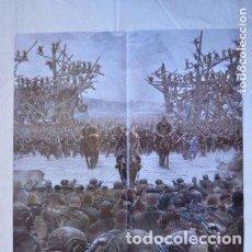 Cine: POSTER O CARTEL DOBLE #015 DE LA GUERRA DEL PLANETA DE LOS SIMIOS Y PEQUEÑAS MENTIROSAS. Lote 275527808