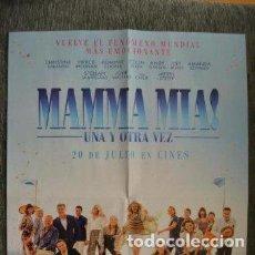 Cine: POSTER O CARTEL DOBLE #020 DE MAMMA MIA: UNA Y OTRA VEZ Y LUKE CAGE. Lote 275529023