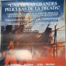 Cine: CARTEL DE CINE 70X100 TIEMPOS DE GLORIA. Lote 275557818