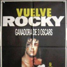 Cine: YN34D ROCKY SYLVESTER STALLONE BOXEO POSTER ORIGINAL 70X100 ESPAÑOL. Lote 275620148