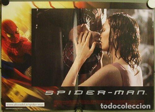 HW48D SPIDERMAN SPIDER-MAN SAM RAIMI TOBEY MAGUIRE SET 6 POSTERS ORIGINALES ITALIANOS 47X68 (Cine - Posters y Carteles - Ciencia Ficción)