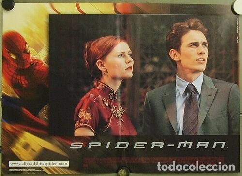 Cine: HW48D SPIDERMAN SPIDER-MAN SAM RAIMI TOBEY MAGUIRE SET 6 POSTERS ORIGINALES ITALIANOS 47X68 - Foto 2 - 275621943