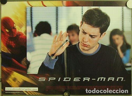 Cine: HW48D SPIDERMAN SPIDER-MAN SAM RAIMI TOBEY MAGUIRE SET 6 POSTERS ORIGINALES ITALIANOS 47X68 - Foto 3 - 275621943