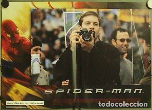 Cine: HW48D SPIDERMAN SPIDER-MAN SAM RAIMI TOBEY MAGUIRE SET 6 POSTERS ORIGINALES ITALIANOS 47X68 - Foto 4 - 275621943