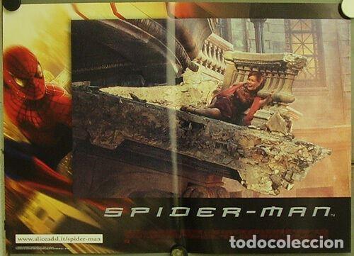 Cine: HW48D SPIDERMAN SPIDER-MAN SAM RAIMI TOBEY MAGUIRE SET 6 POSTERS ORIGINALES ITALIANOS 47X68 - Foto 5 - 275621943