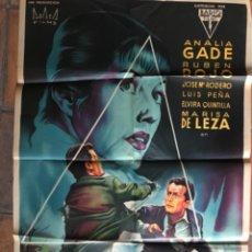 Cine: CARTEL PÓSTER DE CINE LA FRONTERA DEL MIEDO. DIB SOLIGO. Lote 275641508