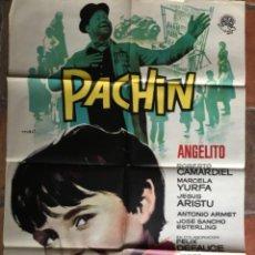 Cinema: CARTEL PÓSTER DE CINE PACHIN. Lote 275642108