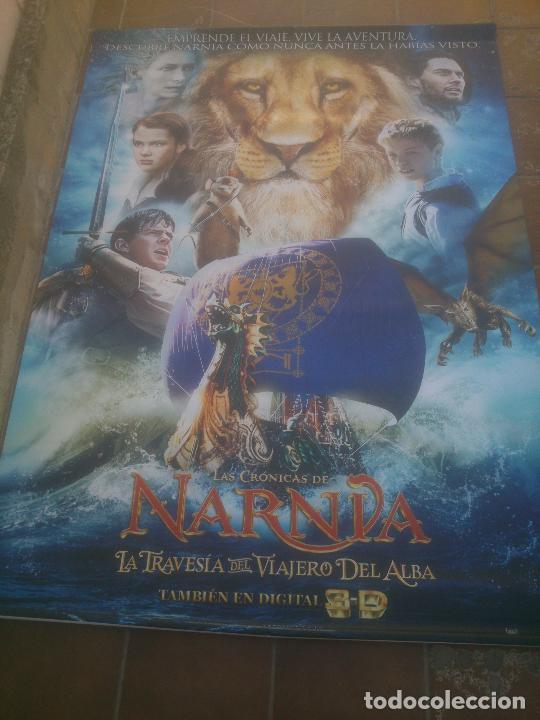 LAS CRONICAS DE NARNIA LA TRAVESIA DEL VIAJERO DEL ALBA (Cine - Posters y Carteles - Aventura)