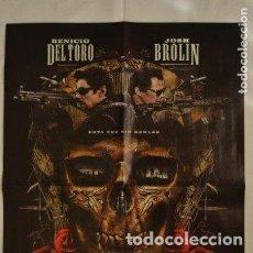 Cine: POSTER O CARTEL DOBLE #026 DE SICARIO: EL DÍA DEL SOLDADO Y DEADPOOL 2. Lote 275713658