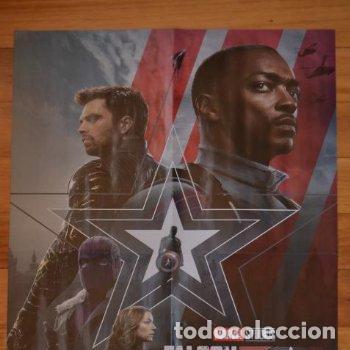 POSTER O CARTEL DOBLE #027 DE FALCON Y EL SOLDADO DE INVIERNO Y CRUELLA (Cine - Posters y Carteles - Acción)
