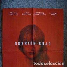 Cine: POSTER O CARTEL DOBLE #032 DE GORRIÓN ROJO Y JESSICA JONES. Lote 275715683
