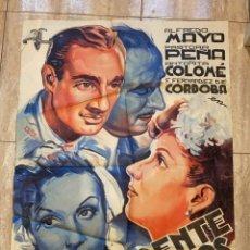 Cine: POSTER DE CINE EL FRENTE DE LOS SUSPIROS 1962 JOSE DE DIEGO DISTRIBUCIONES CINEMATOGRAFICAS. Lote 276244113