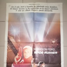 Cine: ANTIGUO CARTEL CINE, BLADE RUNNER. 1982. 100X70. Lote 276278988