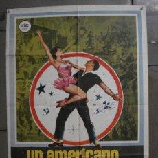 Cine: CDO L678 UN AMERICANO EN PARIS GENE KELLY HERMIDA POSTER ORIGINAL 70X100 ESPAÑOL R-80. Lote 276362683