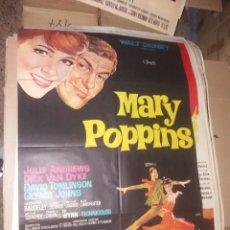 Cine: CARTEL ORIGINAL MARY POPPINS 1 M X 0,70 CM. Lote 276417518