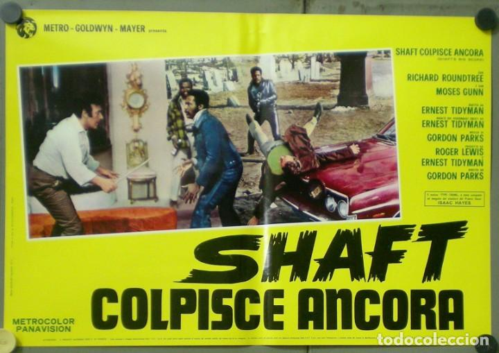 Cine: 2UW05D SHAFT VUELVE A HARLEM RICHARD ROUNTREE BLAXPLOITATION SET 10 POSTERS ORIG ITALIANOS 47X68 - Foto 3 - 276420533