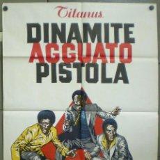 Cine: 2UT44D LOS DEMOLEDORES FRED WILLIAMSON JIM BROWN KELLY BLAXPLOITATION POSTER ORIG ITALIANO 100X140. Lote 276424853
