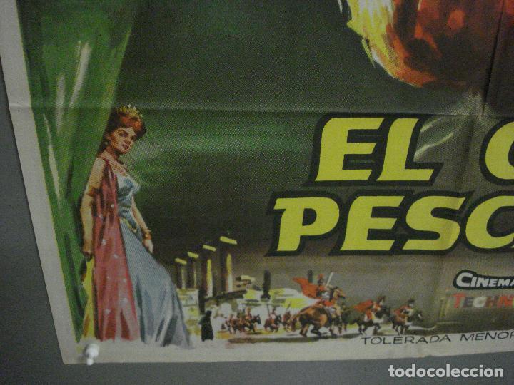 Cine: CDO L705 EL GRAN PESCADOR HOWARD KEEL WALT DISNEY POSTER ORIGINAL 70X100 ESTRENO - Foto 5 - 276486793