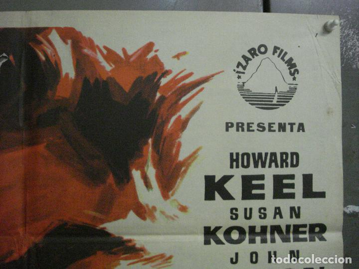 Cine: CDO L705 EL GRAN PESCADOR HOWARD KEEL WALT DISNEY POSTER ORIGINAL 70X100 ESTRENO - Foto 6 - 276486793