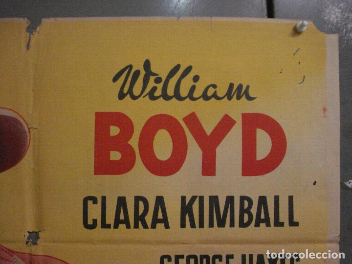 Cine: CDO L707 LA LEY DEL REVOLVER WILLIAM BOYD GEORGE HAYES POSTER ORIGINAL 70X100 ESTRENO LITOGRAFIA - Foto 6 - 276490548