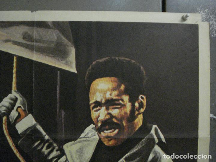 Cine: CDO L720 SHAFT noches rojas de Harlem RICHARD ROUNDTREE BLAXPLOITATION POSTER ORIG 70X100 ESTRENO - Foto 6 - 276525883