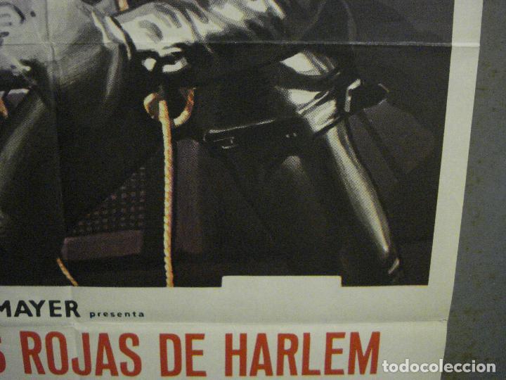 Cine: CDO L720 SHAFT noches rojas de Harlem RICHARD ROUNDTREE BLAXPLOITATION POSTER ORIG 70X100 ESTRENO - Foto 8 - 276525883