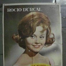 Cine: CDO L722 LA CHICA DEL TREBOL ROCIO DURCAL POSTER ORIGINAL 70X100 ESTRENO. Lote 276526493