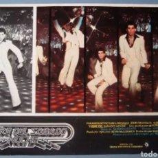 Cine: FOTOCROMO CARTELERA FIEBRE DEL SABADO NOCHE. AÑO 1977. LEER CONDICIONES ANTES DE PUJAR O COMPRAR.. Lote 276538513
