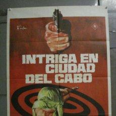 Cine: CDO L765 INTRIGA EN LA CIUDAD DE EL CABO JACQUELINE BISSET JANO POSTER ORIGINAL 70X100 ESTRENO. Lote 276558333
