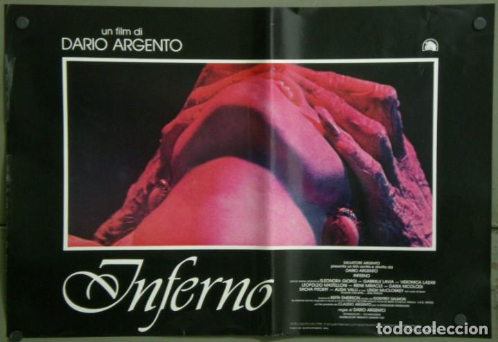 Cine: TZ22D INFERNO DARIO ARGENTO ELEONORA GIORGI SET 8 POSTERS ORIGINALES ITALIANOS 47X68 - Foto 2 - 276591883