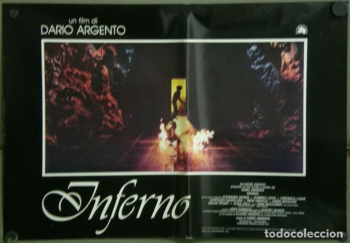 Cine: TZ22D INFERNO DARIO ARGENTO ELEONORA GIORGI SET 8 POSTERS ORIGINALES ITALIANOS 47X68 - Foto 4 - 276591883