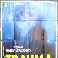 Cine: CT03D TRAUMA DARIO ARGENTO ASIA ARGENTO POSTER ORIGINAL ITALIANO 140X200. Lote 276592348