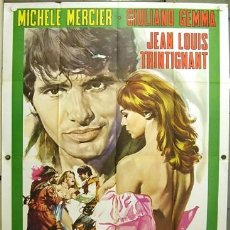 Cine: DH59D ANGELIQUE AND THE KING MICHELE MERCIER POSTER ORIGINAL 140X200 ITALIANO. Lote 276601648
