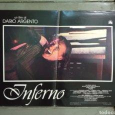 Cine: KD60D INFERNO DARIO ARGENTO ELEONORA GIORGI POSTER ORIGINAL ITALIANO 47X68. Lote 276593903
