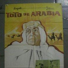 Cine: CDO L770 TOTO DE ARABIA TOTO JOSE LUIS LOPEZ VAZQUEZ MCP POSTER ORIGINAL 70X100 ESTRENO. Lote 276681543